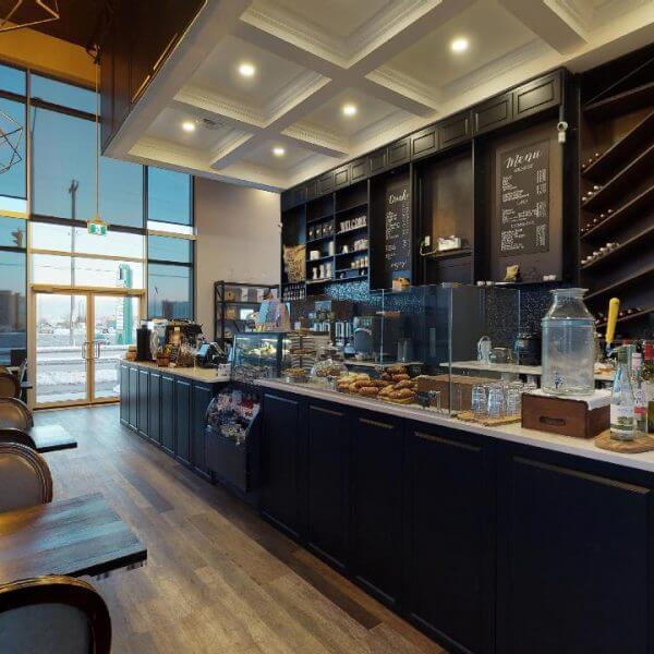 Figaro Coffee House Interior