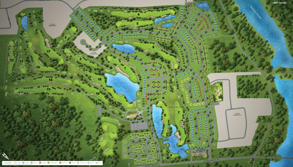 eQuinelle Site Plan