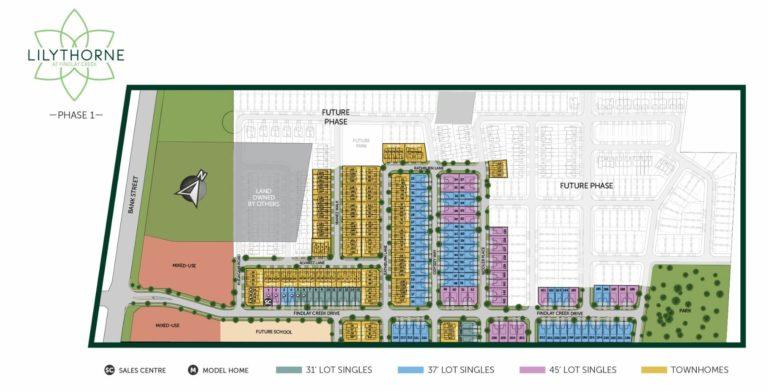 Ottawa Homebuilder Community Map