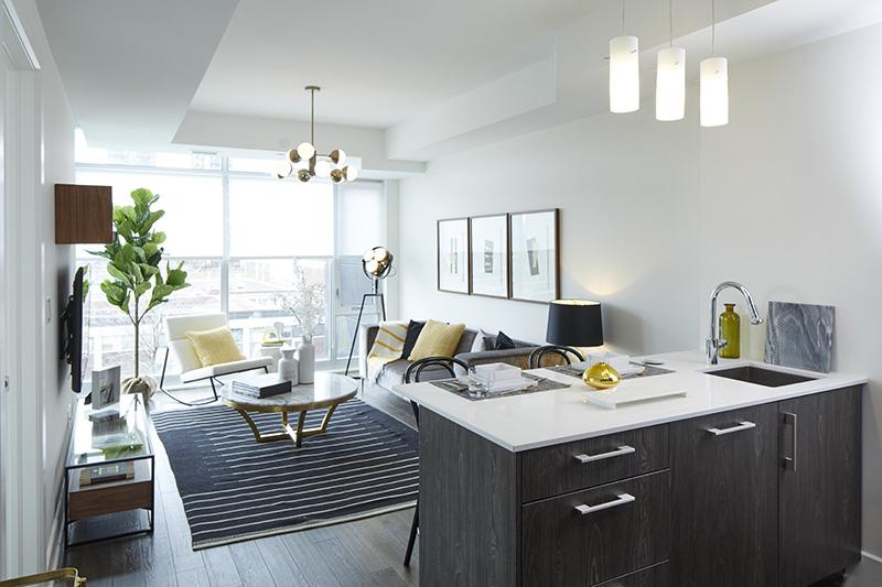 Model Apartment Interior