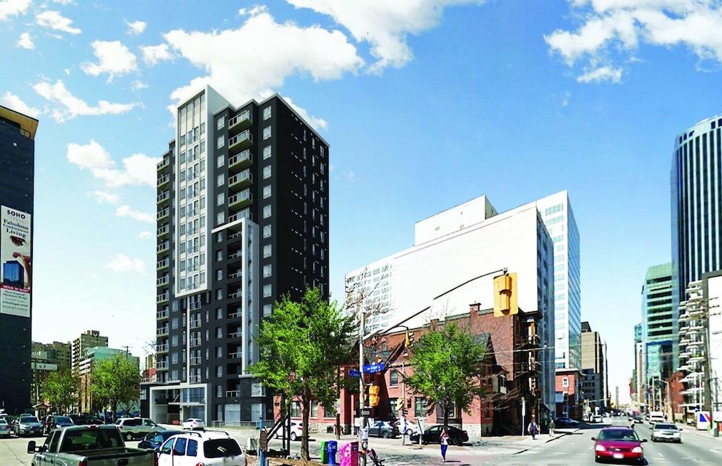 Downtown Ottawa buildings
